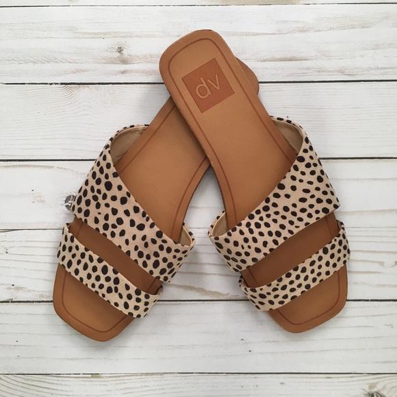 Dv By Dolce Vita Leopard Print Sandals